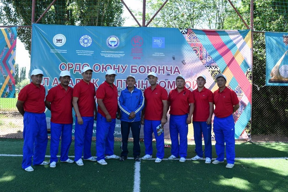 The Ordo Team from Kyrgyzstan is Preparing for the World Nomad Games