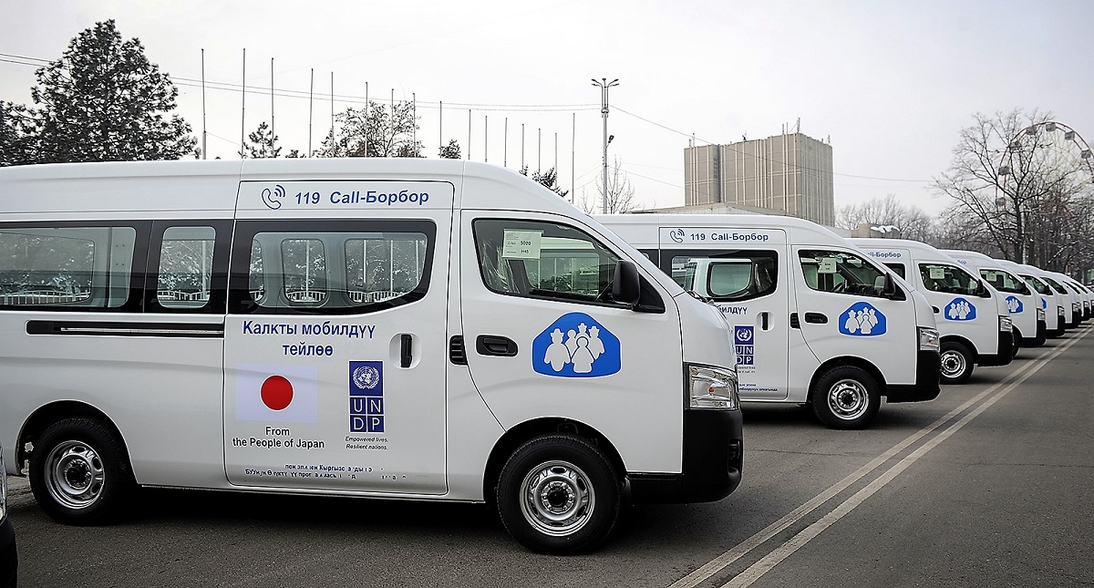 Mobile Local Service Centers on the ground will register foreign citizens at the III WNG